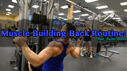 Muscle Building Back Routine Thumbnail
